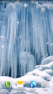 Frozen Waterfall HD Wallpaper 3