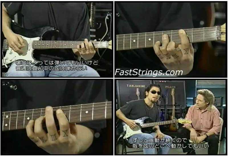 Dave Navarro - Instructional Video