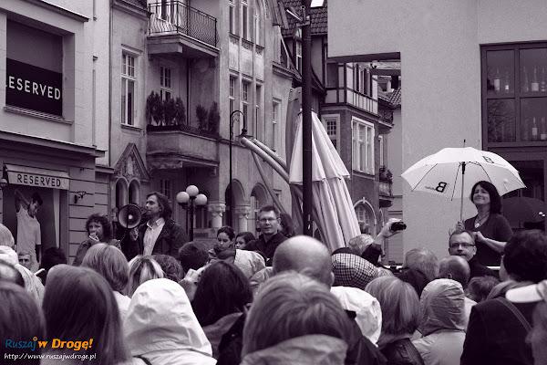 spacer iBedeker po Sopocie  - Ewa Kowalska liczy gości