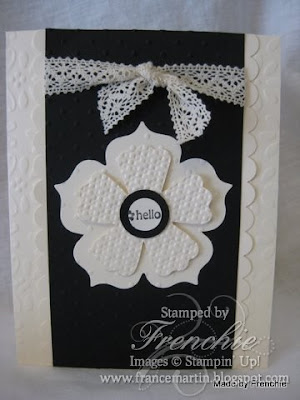 Love Stampin'Up! Embossing Folder…..