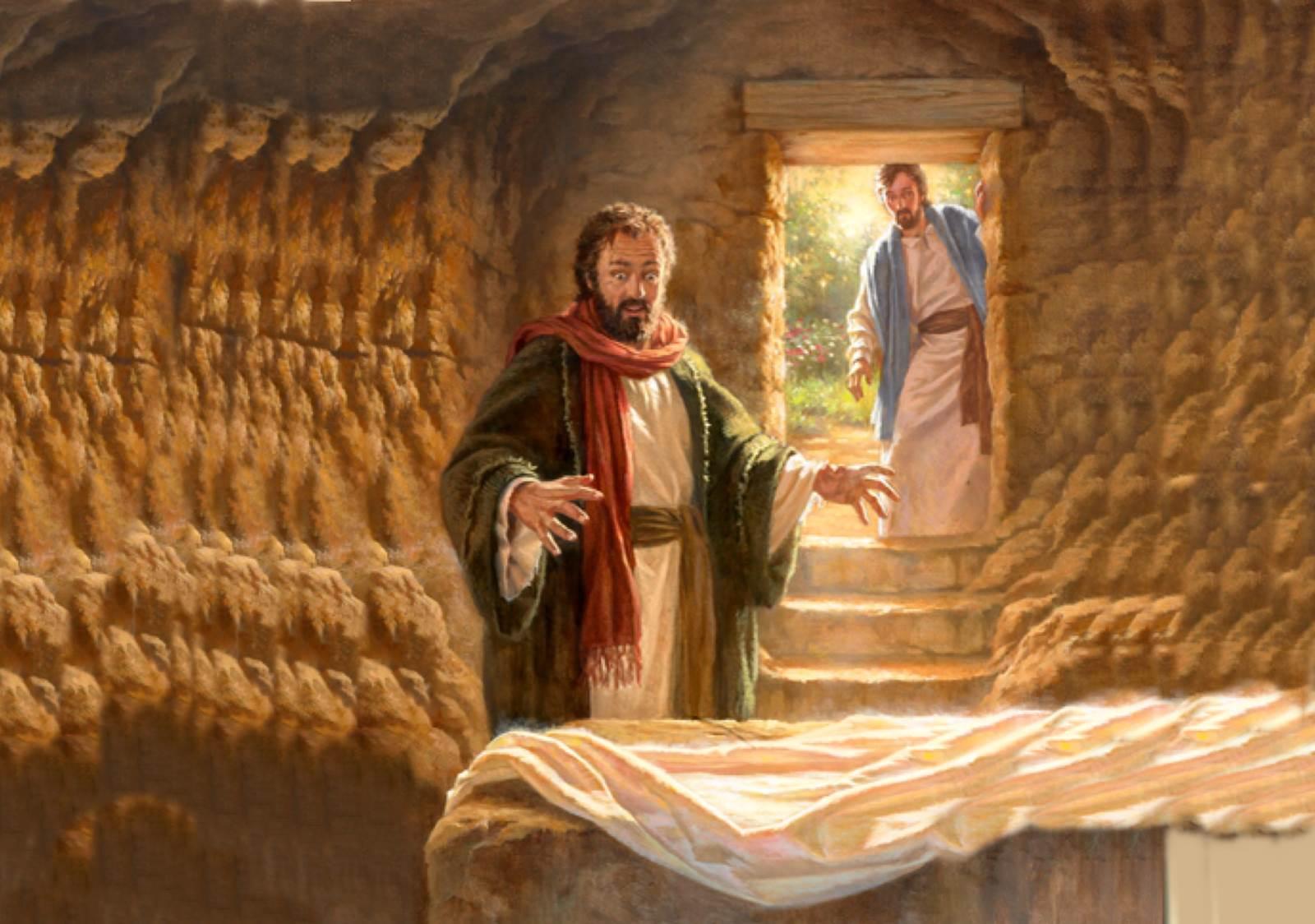 Ông đã thấy và đã tin