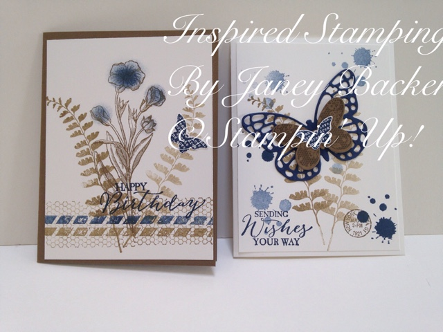 Inspired Stamping by Janey Backer: A Case of Butterfly