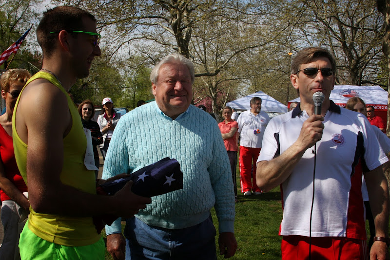 A.Brodka, burmistrz Wargacki i A.Krygowski
