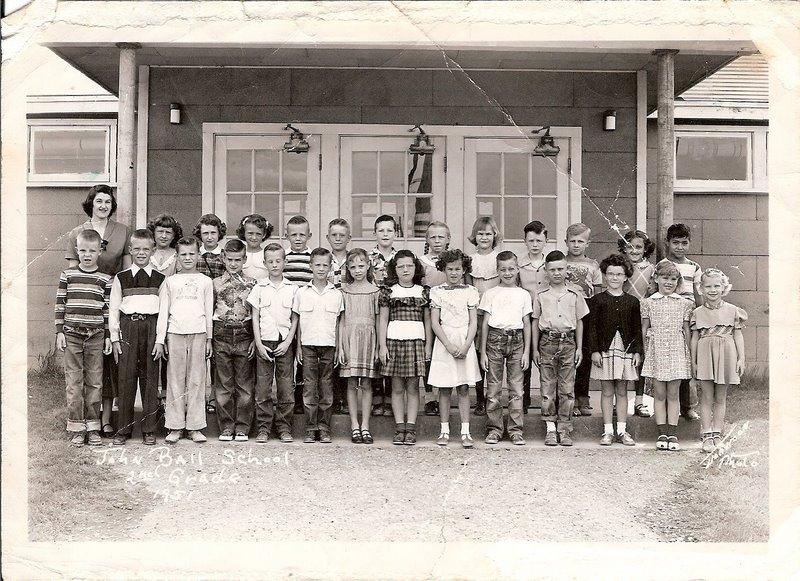 John Ball 2nd grade 1951