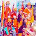 बिहार मधेपुरा रामनवमी पर निकला भव्य जुलूस जय श्री राम के नारों से गूंजा शहर भगवान राम का जन्मोत्सव