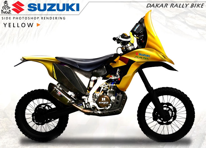 Suzuki Designing A Dakar Bike Dakar Motorcycles Pinterest