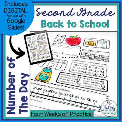 Second Grade Number of the Day will give students the practice they need to develop solid number sense skills
