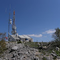 Telekomunikacijski objekti na vrhu Čavnovka 1147 m, na planini Promini