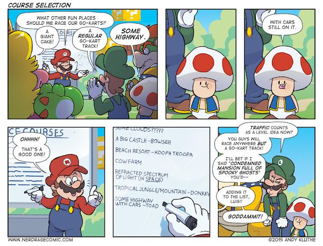 Nerd Rage - Mario Kart Brainstorming Session