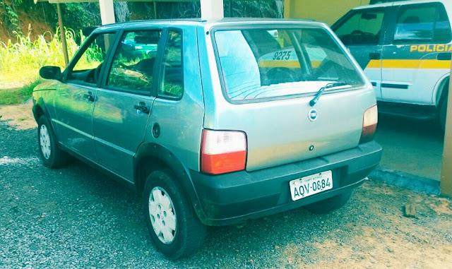 PM de Iretama recupera veículo furtado em Campo Mourão
