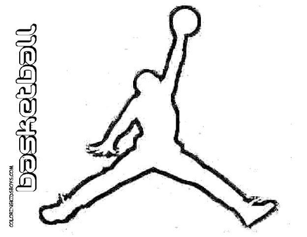 Basketball Coloring Pages Free Word   Format