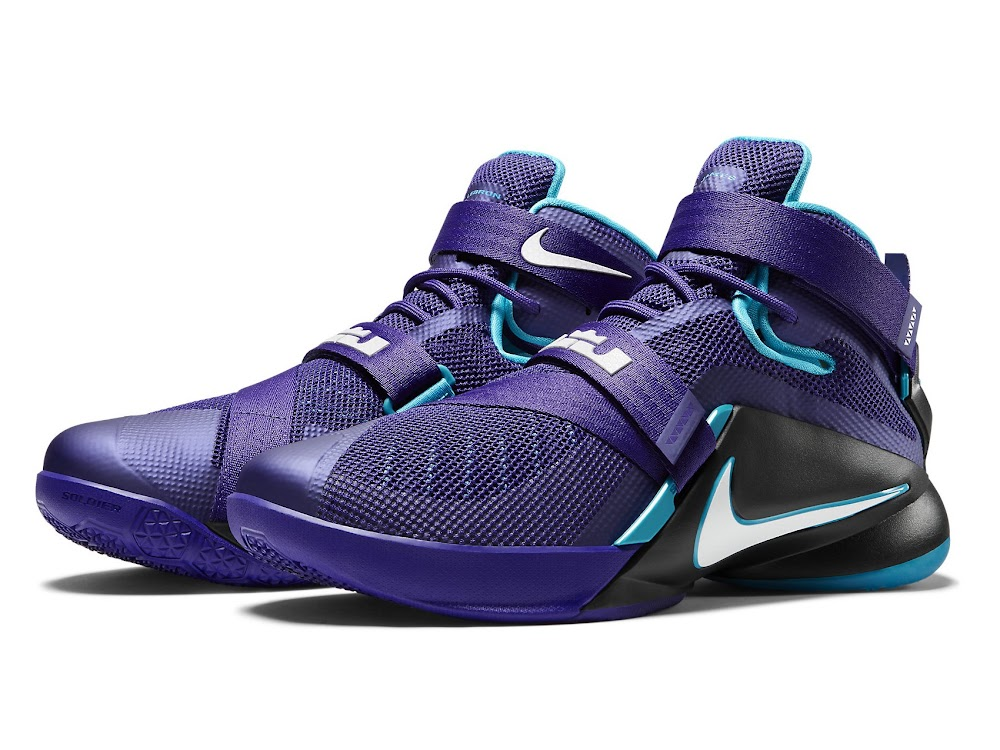 d90f34e3ab05 ... Available Now Nike LeBron Soldier 9 Summit Lake Hornets ...