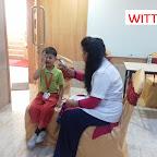 Medical Check-Up of Sr. KG Section at Witty World Bangur Nagar (2017 - 18)