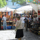 Green Market Square in Cape Town