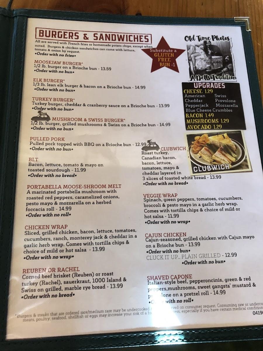 Moosejaw Wisconsin Dells Menu : moosejaw, wisconsin, dells, Photo, Moosejaw, Pizza, Dells, Brewing