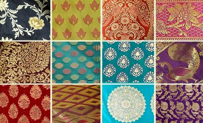 Different patterns and motifs of banarasi saree