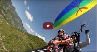 VIDEO. Parapente sur les hauteurs de Djurdjura