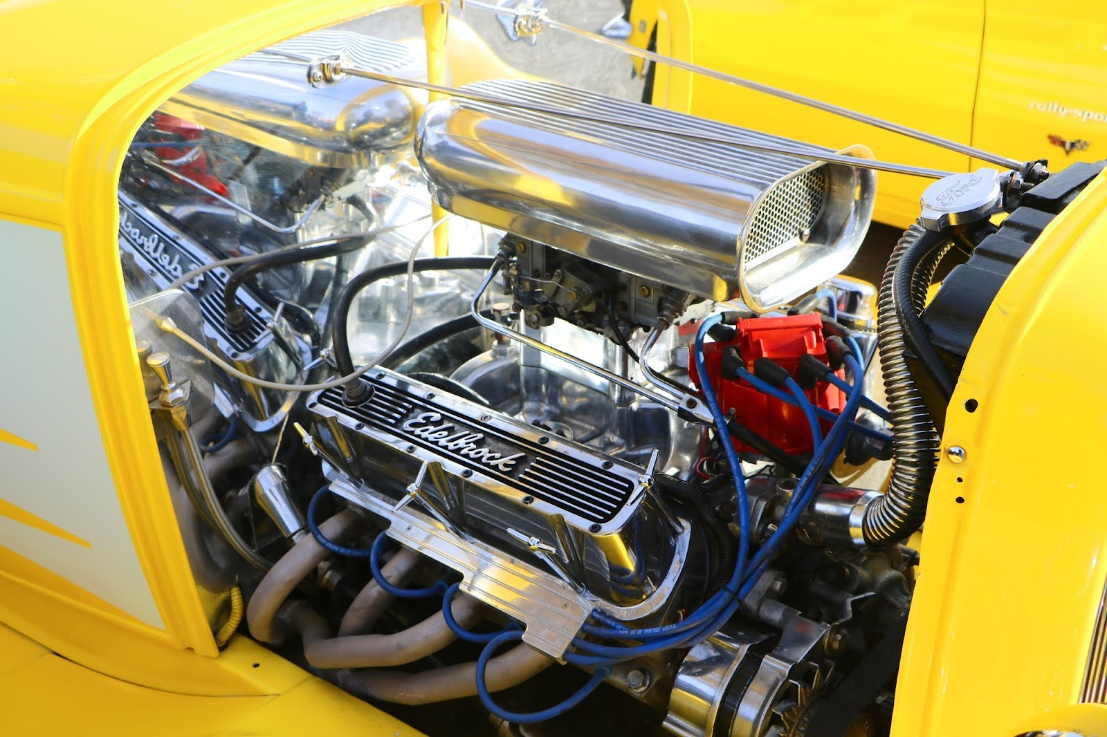 _Detail - Ford Hot Rod Yellow Engine.jpg
