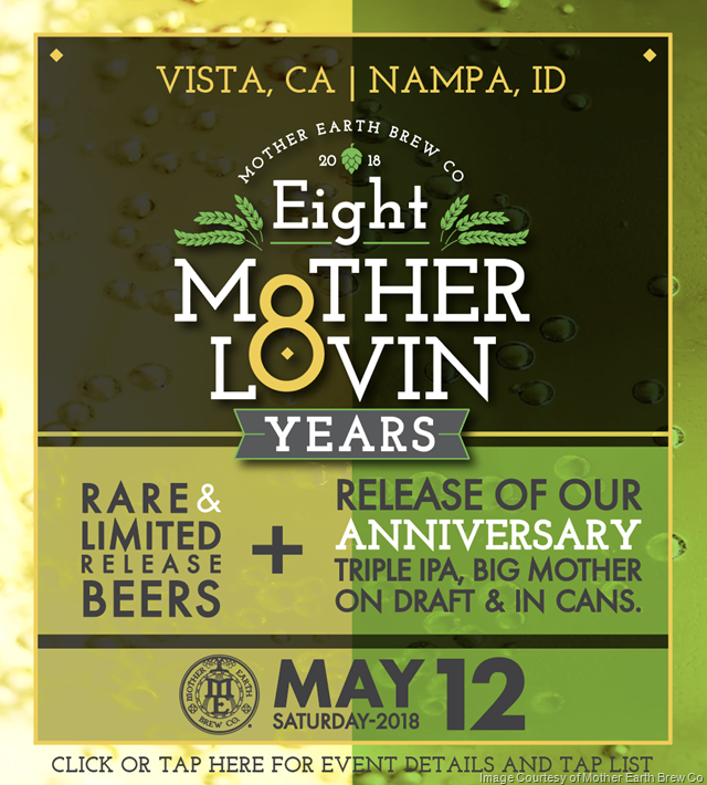 Mother Earth Brew Co  Releasing Big Mother Triple IPA 8th Anniversary Cans