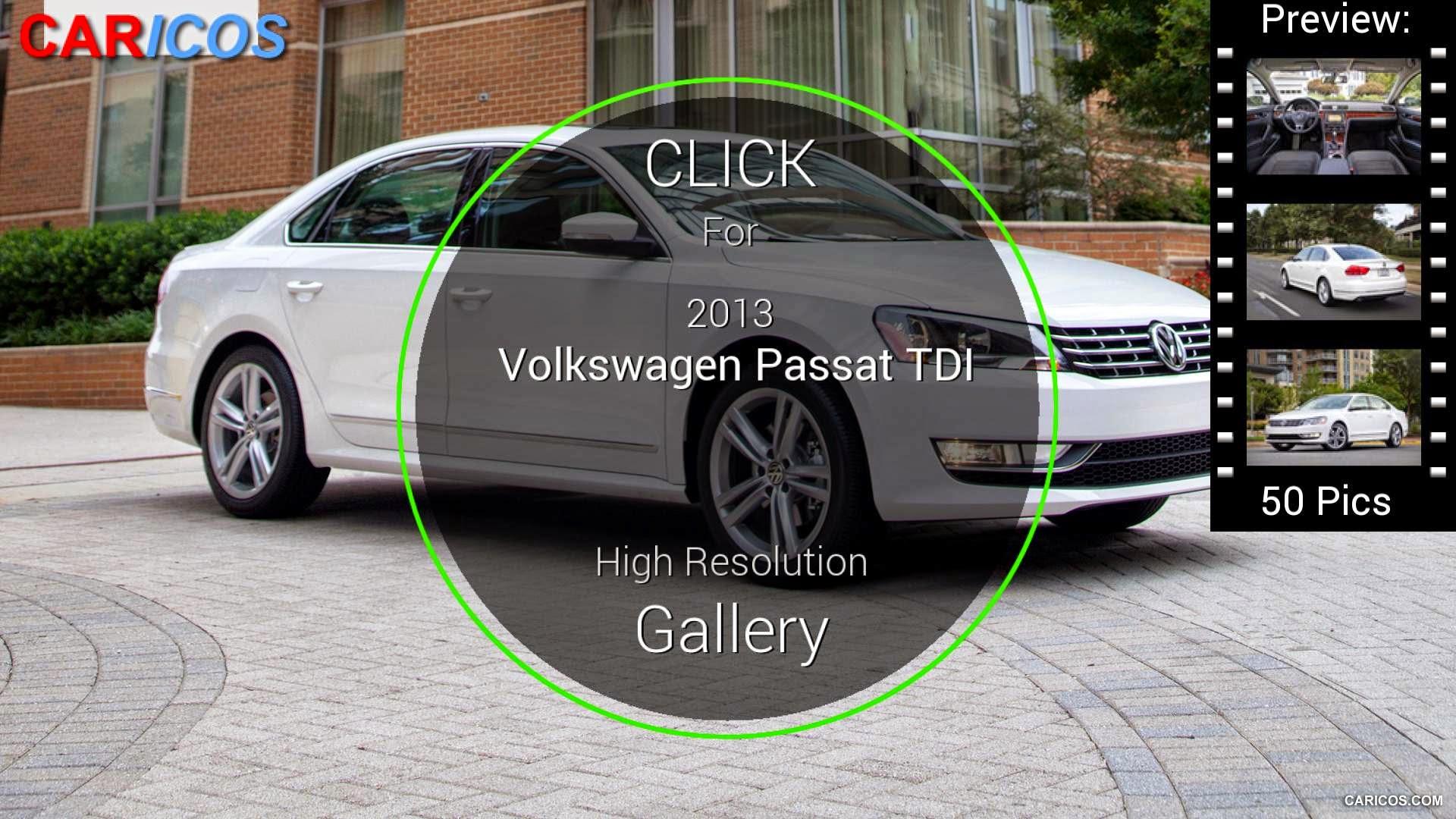 2013 volkswagen passat diesel