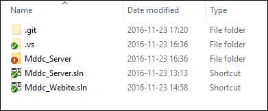 Git Linked Status