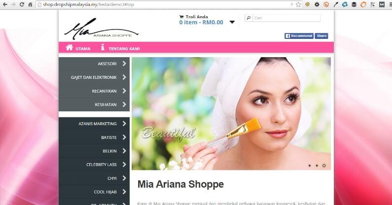DropshipMalaysia Kedai Online Ejen