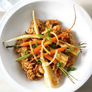 Sweet Potato Brown Rice Risotto.