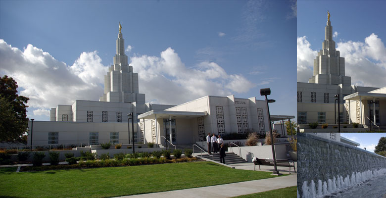 Idaho Falls Idaho Temple, October 13, 2012
