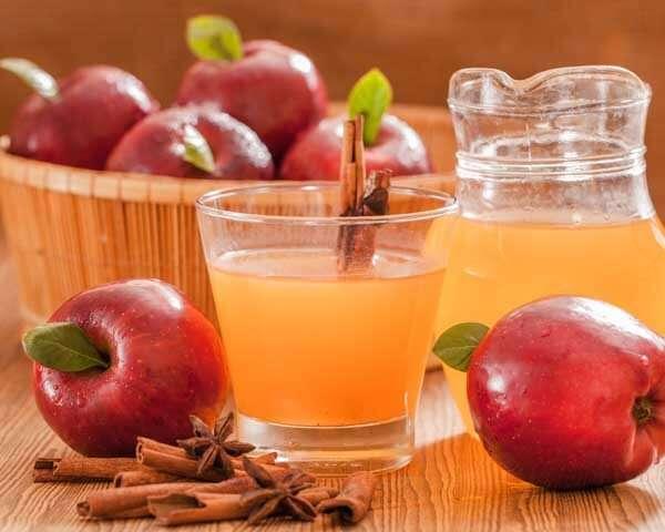 فوائد عصير خل التفاح