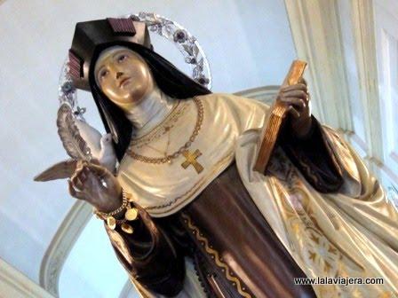 Santa Teresa de Jesús, titular de la parroquia de El Campello