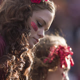 Jaycie Johns, left, and Jordan Grace watch the Grizzlies' season come to a close.  Washington-Grizzly Stadium in Missoula, Mont., November 17th, 2012.