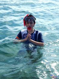 family trip pulau pari 140716 Fuji 091
