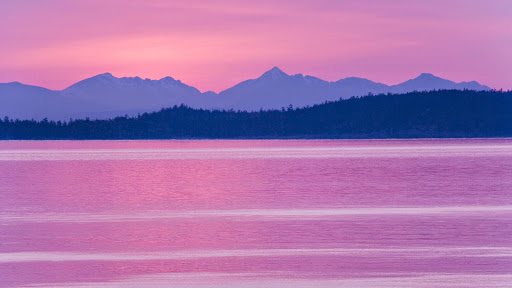Canadian Sunset,_ Haro Straight, Taken From San Juan Island, Washington.jpg