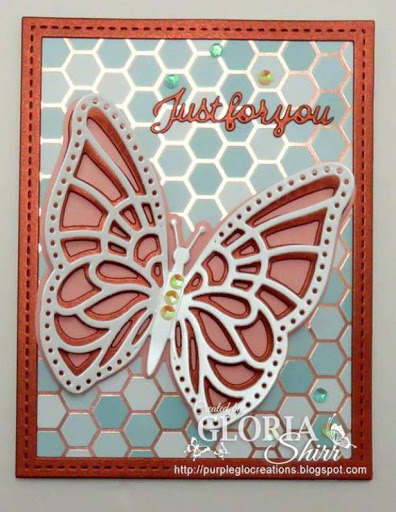 Featured Card at Crafty Sentiments Designs