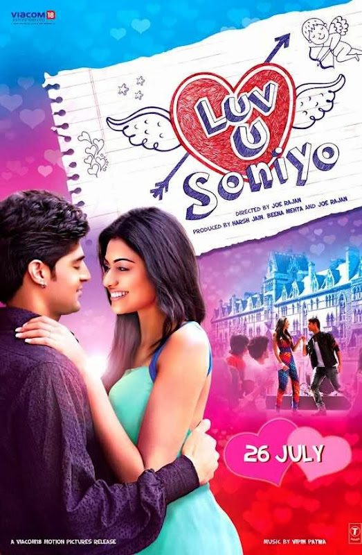 Poster Of Hindi Movie Luv U Soniyo (2013) Free Download Full New Hindi Movie Watch Online At Alldownloads4u.Com