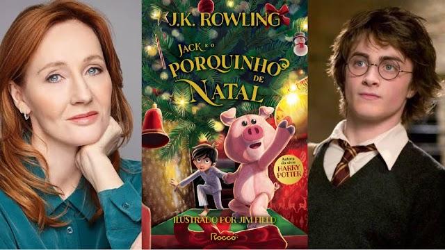 """Novo Livro de J.K. Rowling """"Jack e o Porquinho de Natal"""" É Lançado Hoje"""