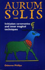 Cover of Melita Denning's Book The Aurum Solis