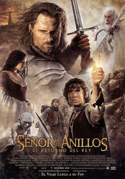 El señor de los anillos, cartel