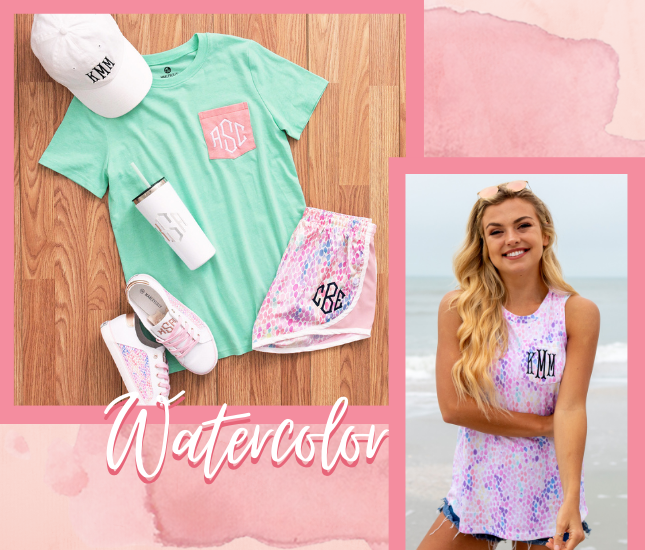 watercolor from marleylilly.com
