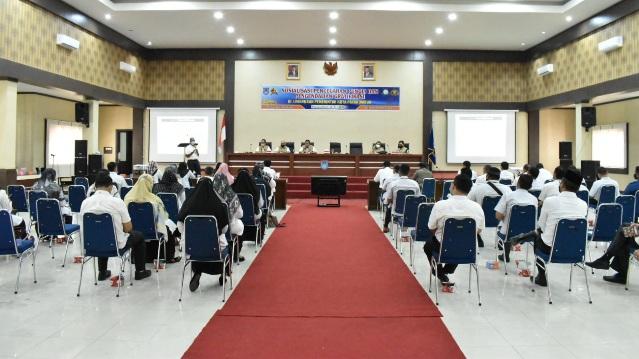 Unit Pemberantasan Pungli Kota Payakumbuh Gelar Sosialisasi Bagi ASN dan Rekanan