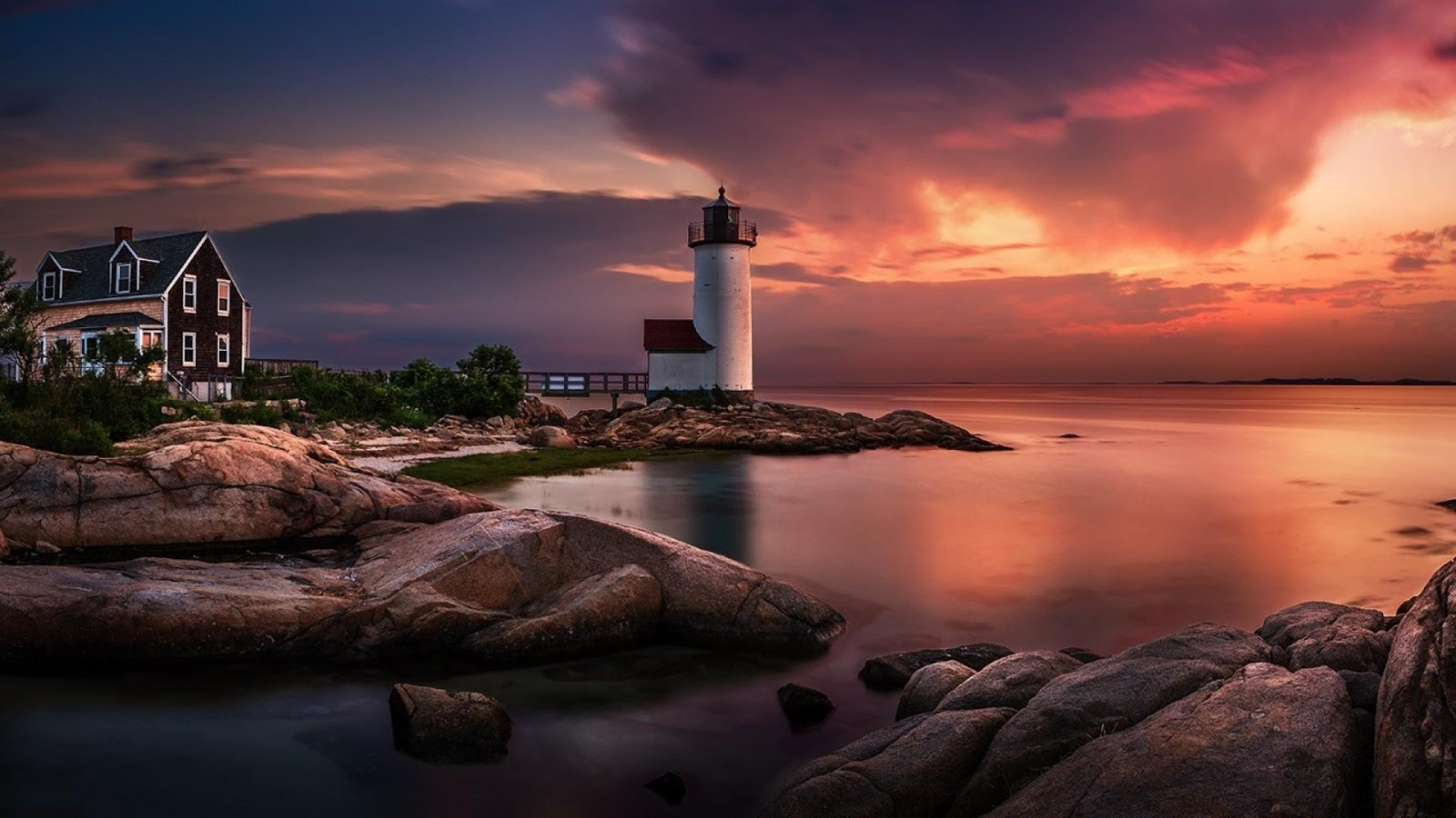 lighthouse storm hd wallpaper   android apps on google play