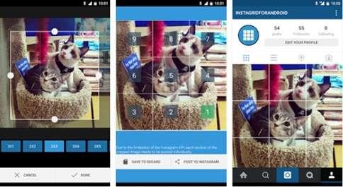 Pernahkah suatu dikala Anda melihat foto ukuran besar di Instagram yang terbagi menjadi b Cara Upload Foto Grid Ukuran Besar di Instagram