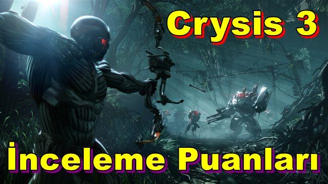 Crysis 3'ün İnceleme Puanları Belli Oldu!