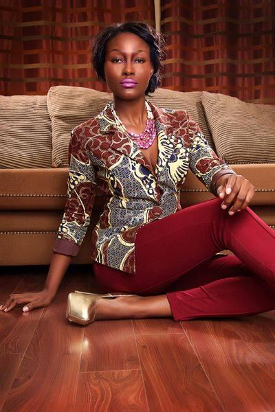 Kitenge Blazers For Ladies Styles 2017