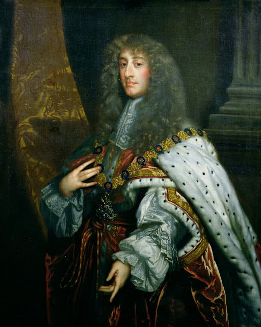 Peter Lely - Portrait of James II