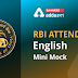 English Language Quiz for Rbi Attendant 2021- 4th March