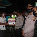 patroli skala besar,dan baksos di wilayah hukum polres aceh barat