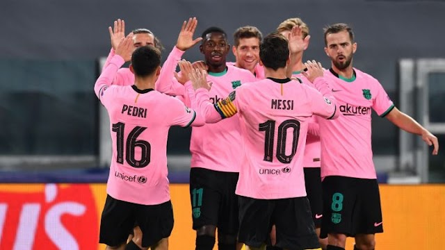 Fc Barcelona Defeats Juventus In Turin ,As Ronaldo Misses Show Down