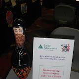 "Best Decorated Pin: Scott Fischer Enterprises ""Livin' on a Spare"""