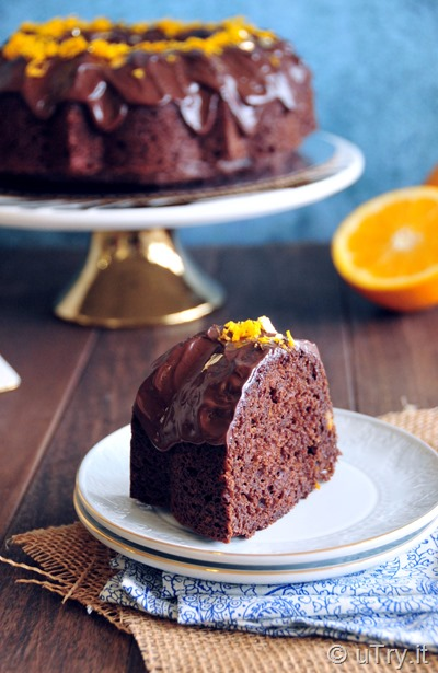 How to Make Chocolate Orange Bundt Cake -  Super Easy Recipe   http://uTry.it